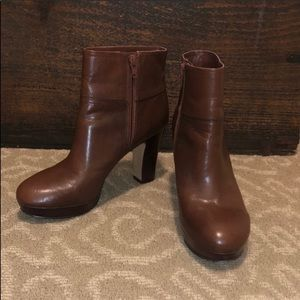Nine West Platform Booties Sz 7M